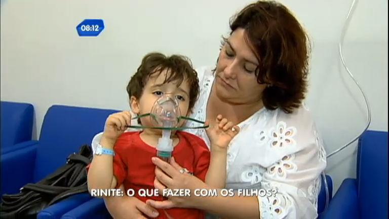 São Paulo no Ar mostra como tratar a rinite alérgica das crianças ...