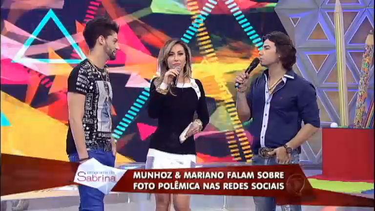 Munhoz e Mariano respondem perguntas polêmicas dos fãs ...