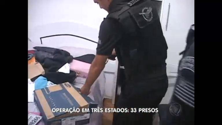 Polícia prende 33 envolvidos em roubos de caminhões em São Paulo