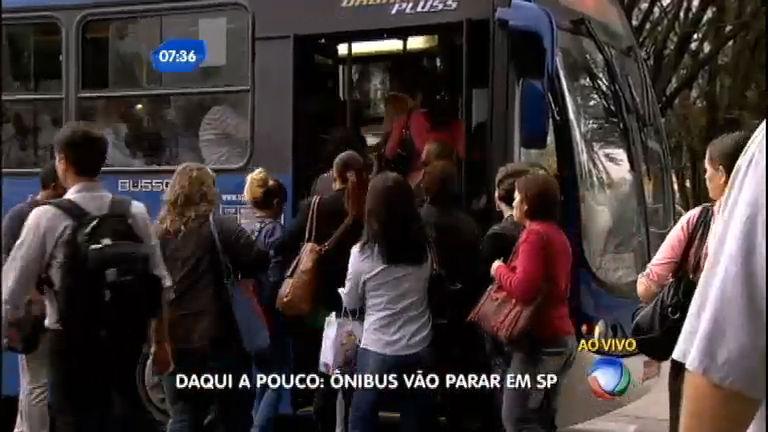 Motoristas de ônibus devem fazer greve na manhã desta quarta ...