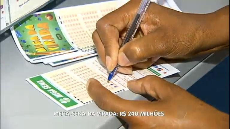 Prêmio da Mega- Sena da virada é estimado em R$ 240 milhões ...