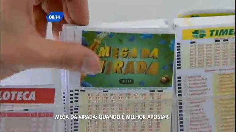 Mega- Sena da Virada: saiba quando é melhor apostar - Notícias ...
