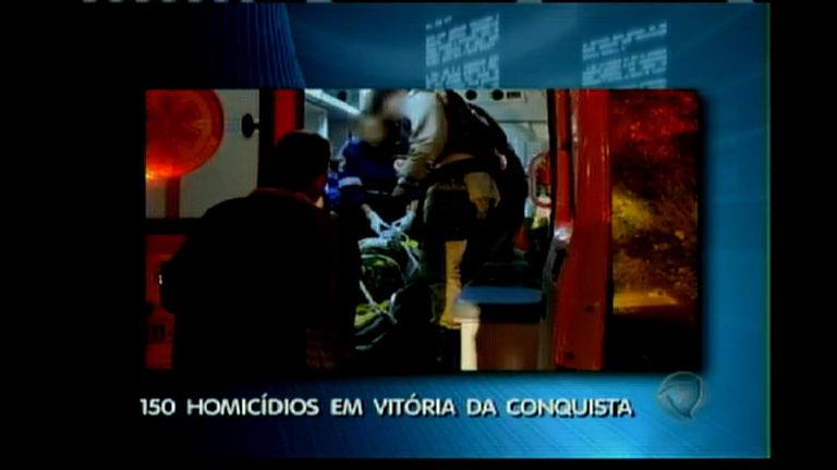 150 homicídios em Vitória da Conquista - Bahia - R7 Balanço Geral ...