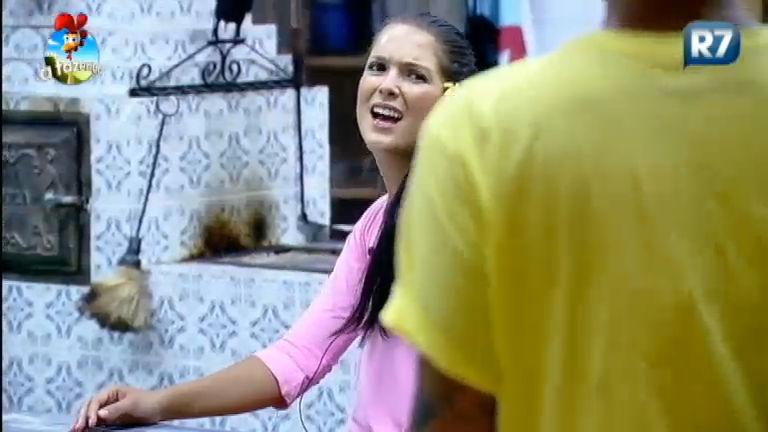 """DH fala sobre """" vacilo"""" de Marlos, e Débora concorda com peão - A ..."""