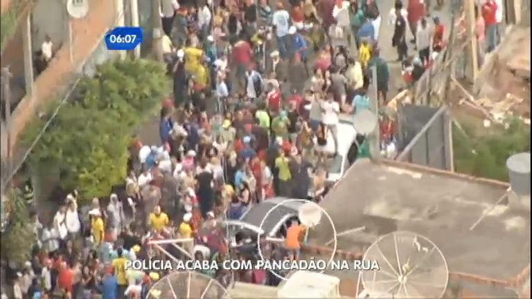 Polícia acaba com pancadão na rua em Taboão da Serra (SP ...