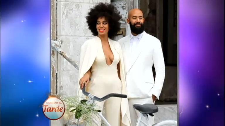 Solange Knowles tem reação alérgica no dia de seu casamento ...
