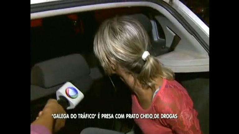 """Traficante """"Galega"""" é presa em Águas Lindas (GO) - Distrito Federal ..."""