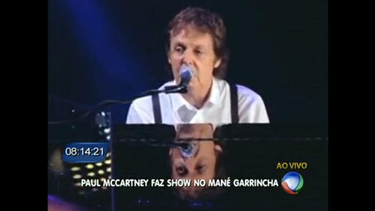 Está chegando a hora para o show de Paul McCartney - Distrito ...
