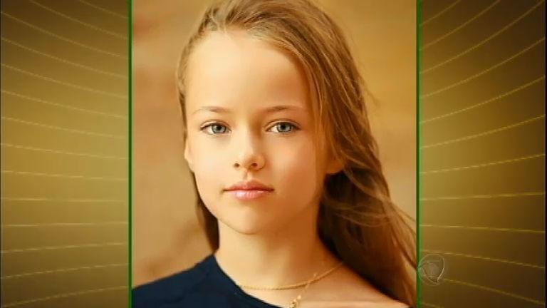Criança russa é considerada a menina mais bonita do mundo ...