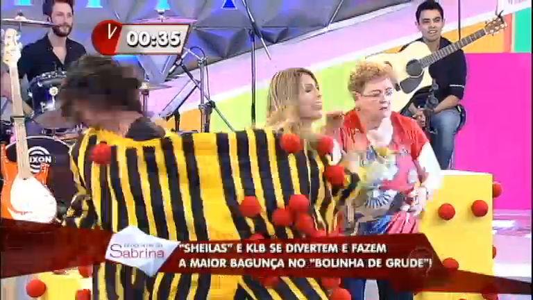 Scheila Carvalho e Sheila Mello enfrentam KLB no Bolinha de Grude