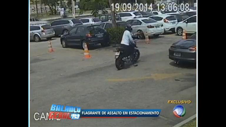Imagens de câmeras de segurança mostram assalto em ...
