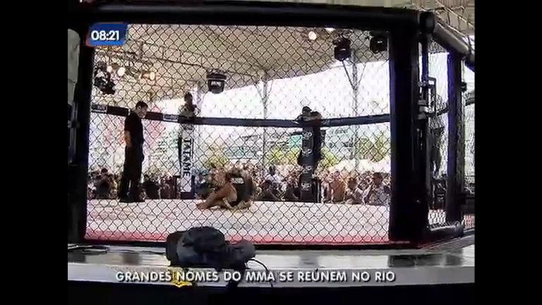 Com a presença de estrelas do MMA, evento na Barra da Tijuca ...