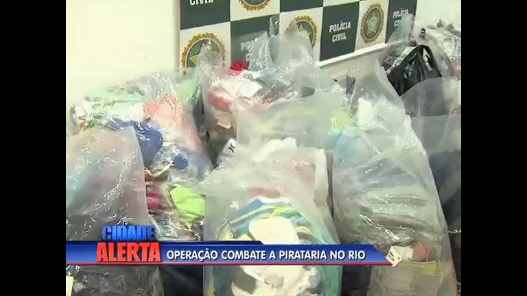 Operação combate a pirataria no Rio - Rio de Janeiro - R7 Cidade ...
