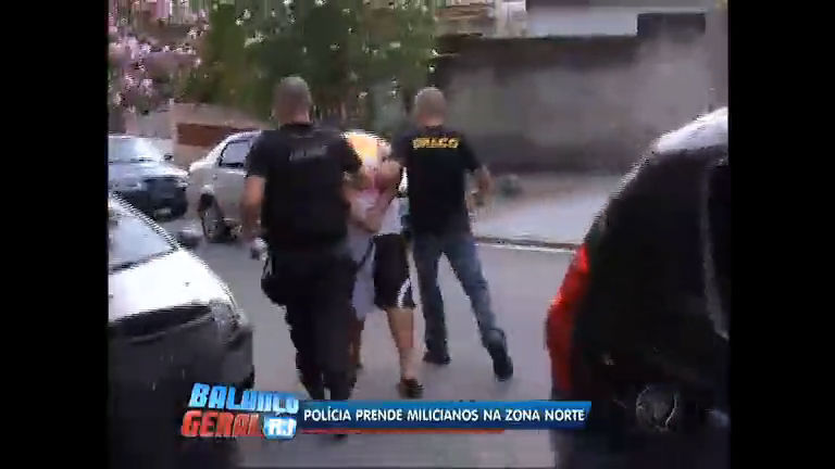 Polícia Civil prende suspeitos de integrar milícia na zona norte do Rio