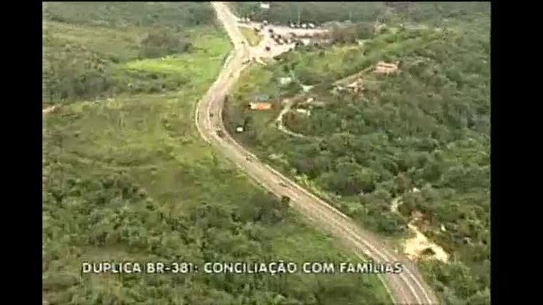 Famílias que moram às margens da BR-381 são chamadas para ...