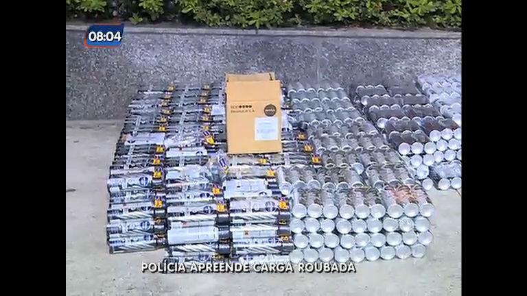 Polícia apreende carga roubada no valor de R$ 190 mil e prende ...