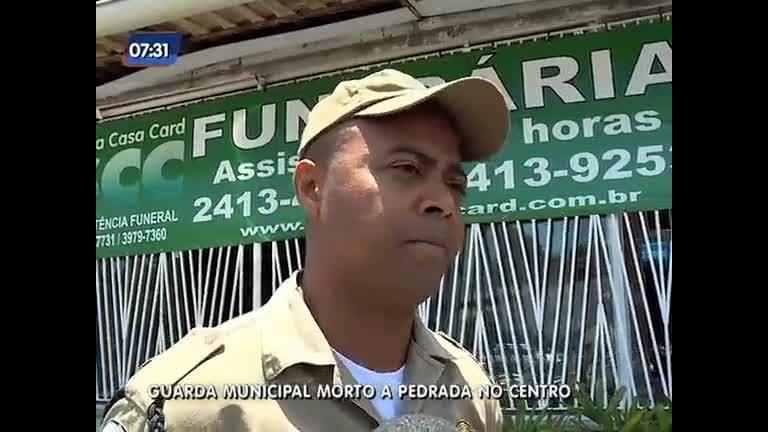 Guarda municipal é morto a pedradas no centro do Rio - Rio de ...