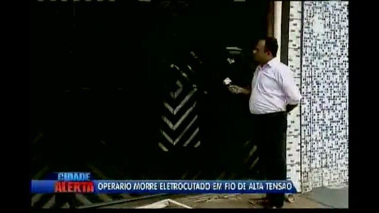 Operário morre eletrocutado em fio de alta tensão - Bahia - R7 ...