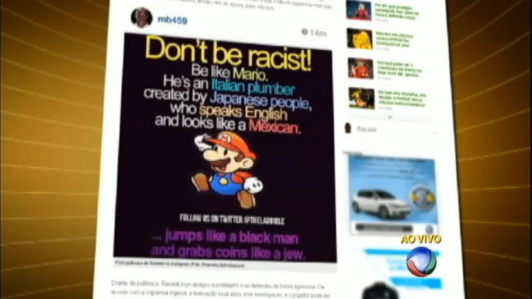 Balotelli é suspenso após postagem em rede social - Notícias - R7 ...