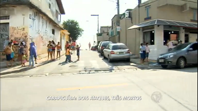 Homens atacam a tiros pessoas em esquinas; 3 morrem em ...