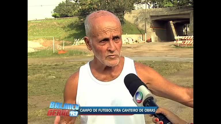 Campo de futebol vira canteiro de obras em Deodoro (RJ) - Rio de ...