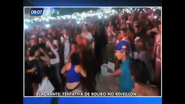 Réveillon: tentativa de assalto causa tumulto e brigas em Copacabana