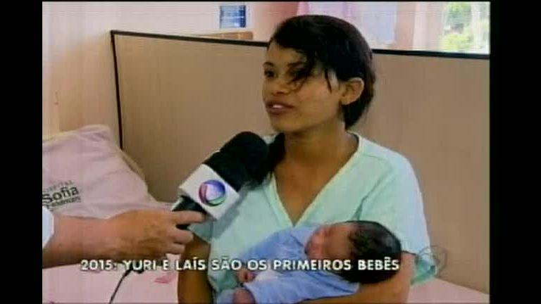 2015: Yuri e Laís são os primeiros bebês em Belo Horizonte - Minas ...