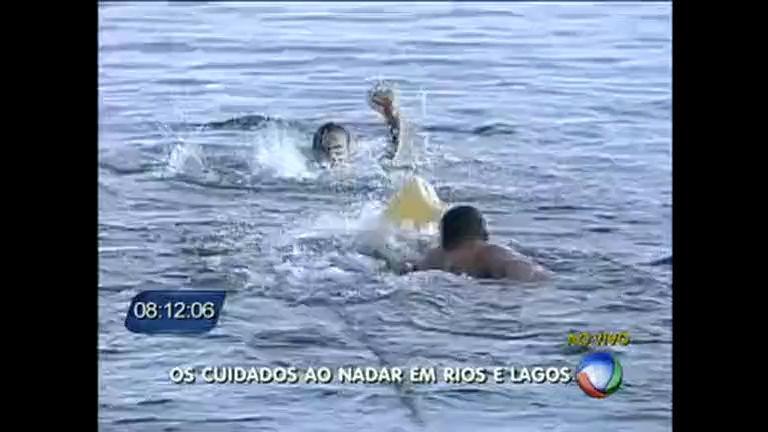 Risco de afogamento aumenta durante o verão - Distrito Federal ...