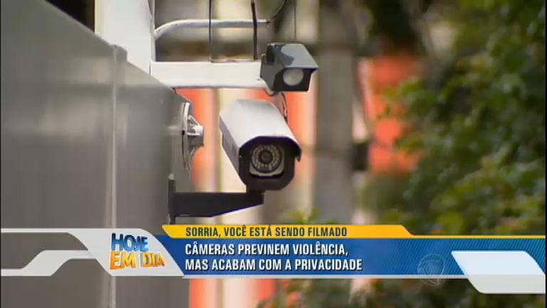 Câmeras aumentam segurança mas diminuem privacidade ...