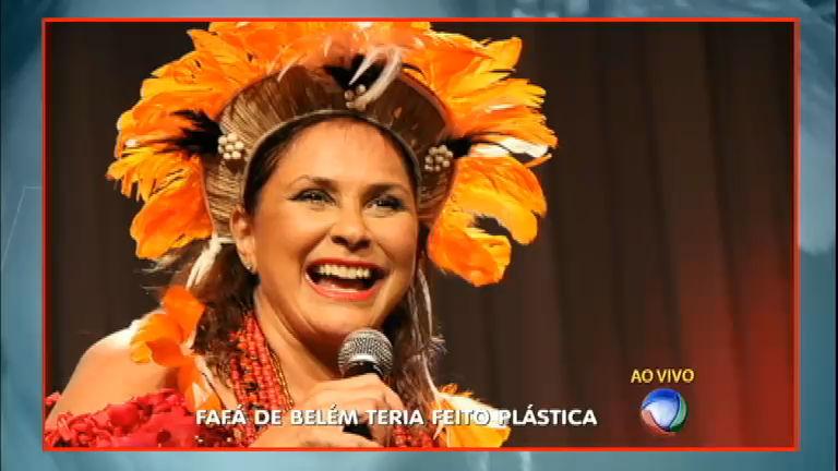 Cantora Fafá de Belém teria feito recauchutagem no corpo ...