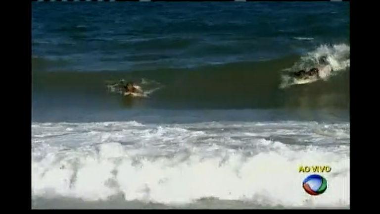 Banhista morre afogado na praia do Jardim de Alah - Bahia - R7 ...