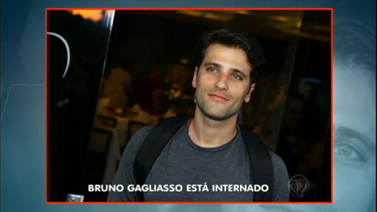 Bruno Gagliasso está internado em observação no Rio de Janeiro