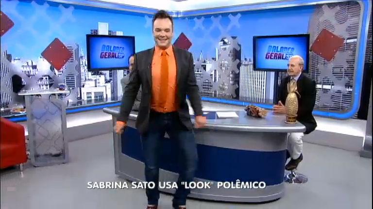 Pronto para o Carnaval?! Felipeh Campos mostra que tem samba no pé