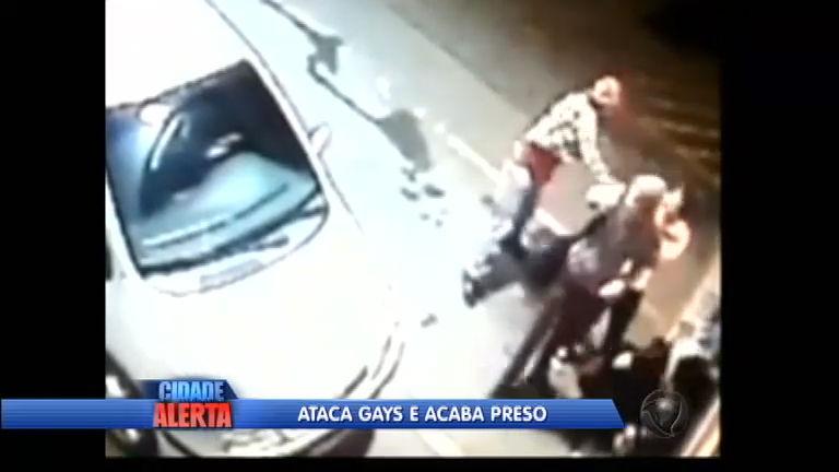 Homem é preso após flagrante de agressão contra homossexuais em Gramado (RS)