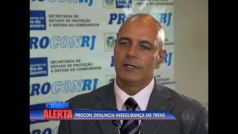 Agentes do Procon-RJ são intimidados durante fiscalização na estação de Del Castilho (RJ)