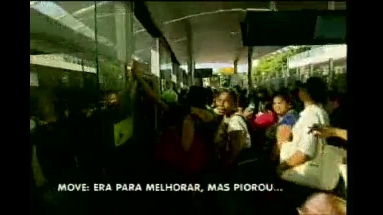Passageiros reclamam da implantação do Move em Ribeirão das Neves