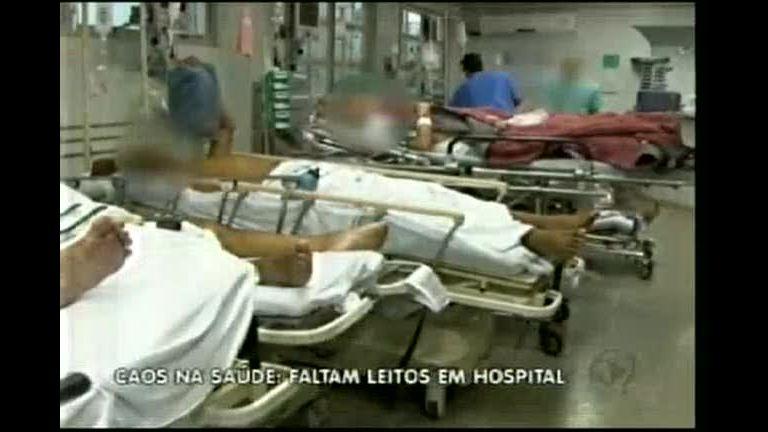 Caos na saúde: faltam leitos em hospital do norte de Minas