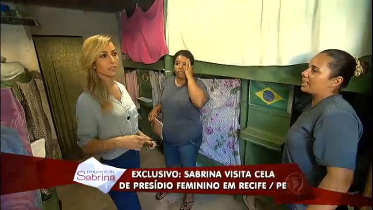 Sabrina conhece rotina de detentas em penitenciária feminina do ...