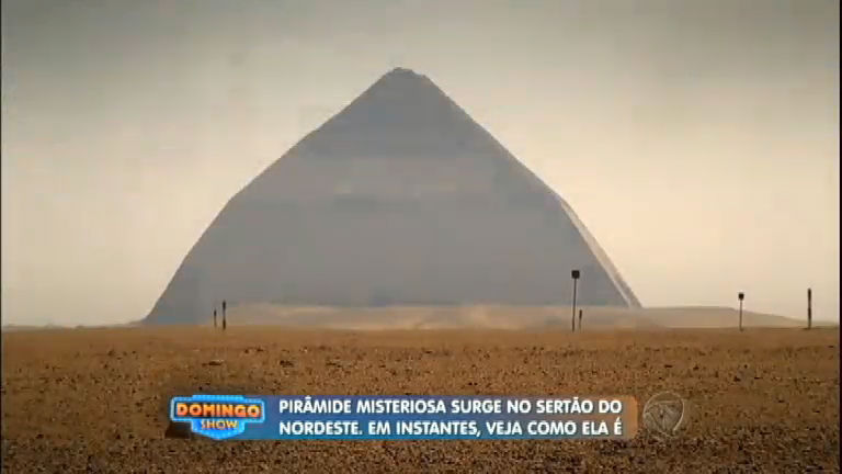 Geraldo Luís desvenda os mistérios da pirâmide construída no ...