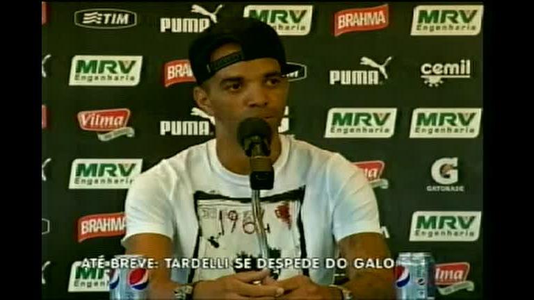 Diego Tardelli se despede do Atlético Mineiro