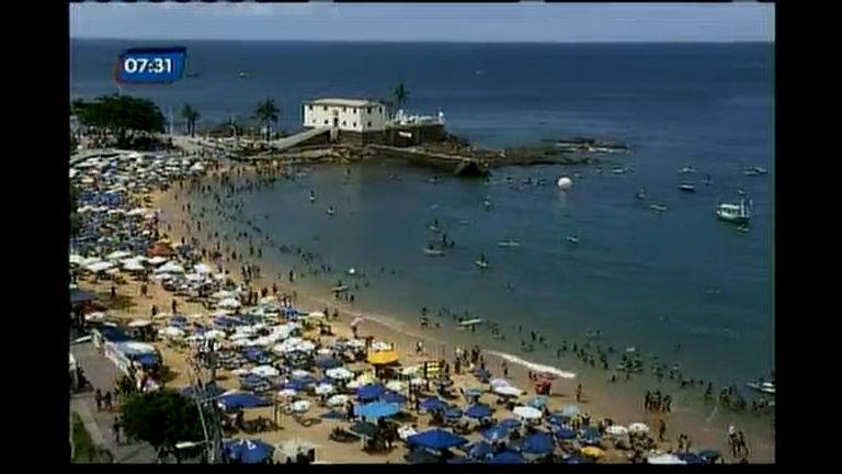 Polêmica no pagamento do kit praia - Bahia - R7 Bahia no Ar