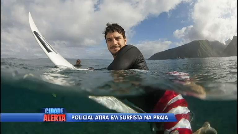 Surfista é baleado por policial em praia de Florianópolis (SC)