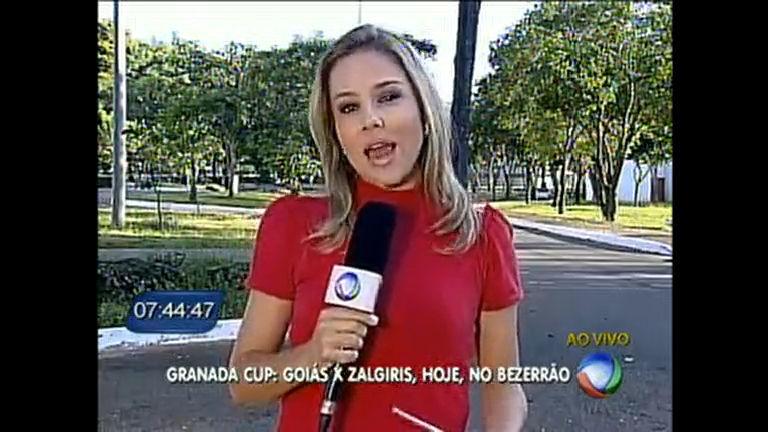 Goiás e Zalgiris da Lituânia se enfrentam esta noite no Bezerrão ...