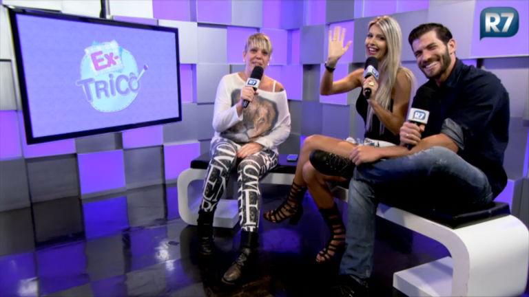 Ex- Tricô: Tatiele Polyana e Roni Mazon fazem apostas para o BBB 15