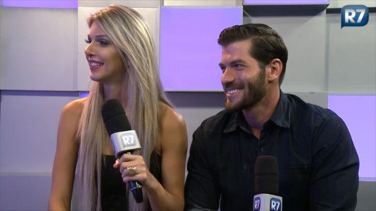 Ex- Tricô: Tatiele e Roni falam sobre relacionamento fora da casa do ...