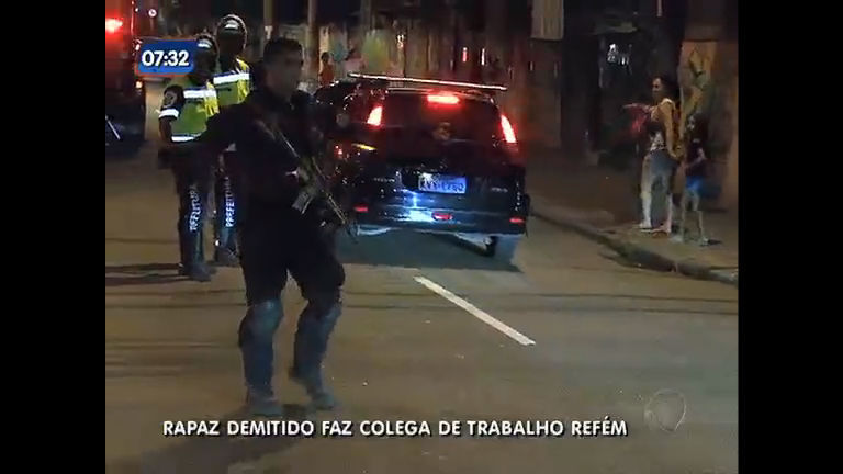 Homem é preso após fazer colega de trabalho refém na zona sul do Rio