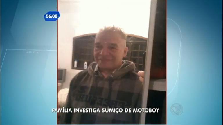 Família investiga desaparecimento de motoboy