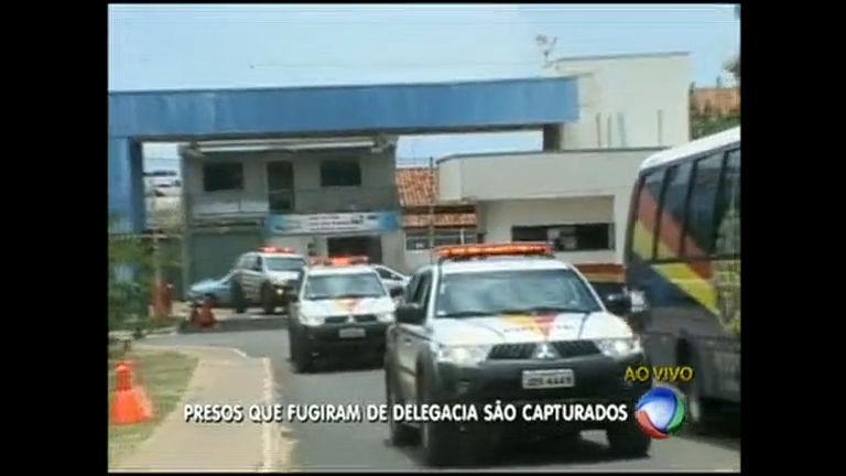 Presos que fugiram de delegacia são capturados - Distrito Federal ...