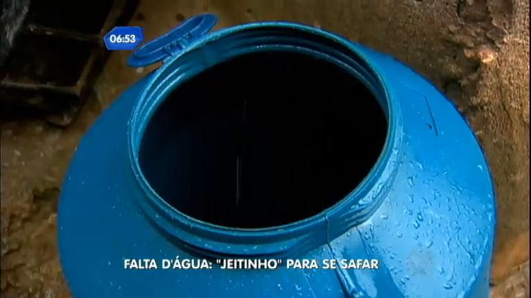 """Paulistanos dão """" jeitinho"""" para dar conta da falta d'água - Notícias ..."""