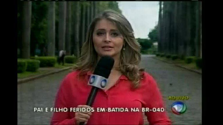 Pai e filho ficam feridos em acidente na BR- 040 - Minas Gerais - R7 ...